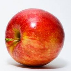 Skin whitening diet - apple