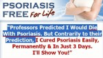 PSORIASIS FREE FOR LIFE GUIDE : DOES IT WORK?